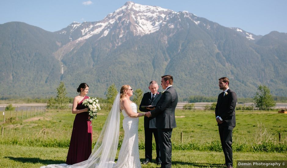 Tiffany and Bryan's wedding in Agassiz, British Columbia