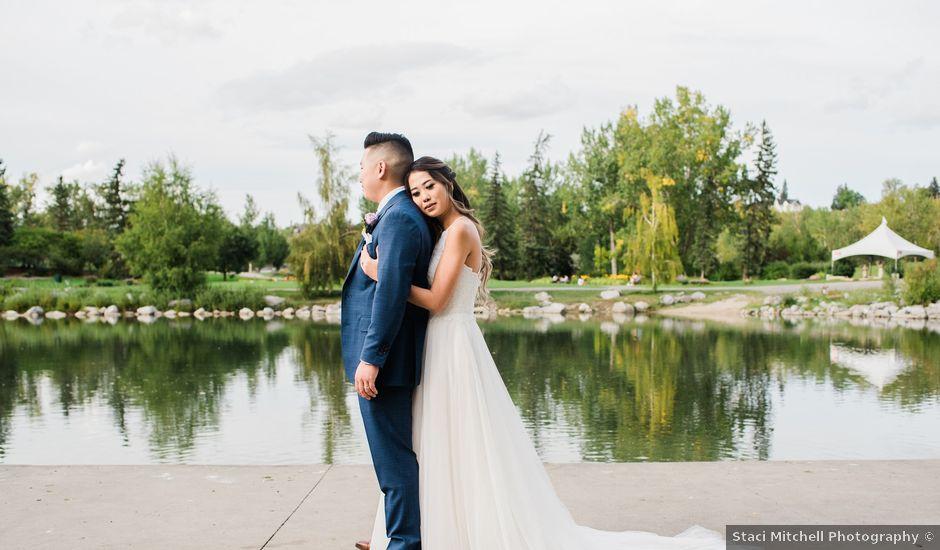 Charlie and Anita's wedding in Calgary, Alberta