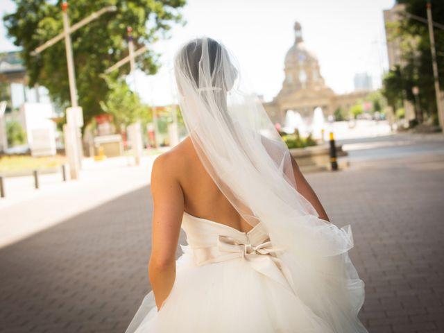 Denzil and Jessica's wedding in Edmonton, Alberta 15