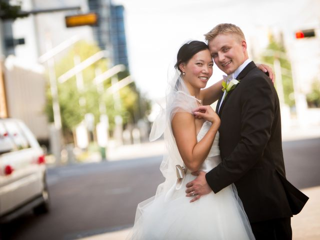 Denzil and Jessica's wedding in Edmonton, Alberta 16