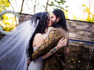 The wedding of Sabrina and Amer