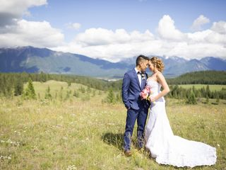 The wedding of Lynn and Rein