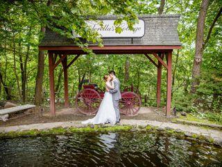 The wedding of Clara and Tony