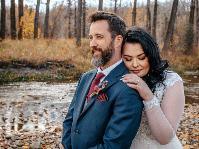 Kalia and Chad's wedding in Calgary, Alberta 3