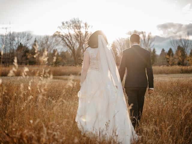 Kalia and Chad's wedding in Calgary, Alberta 5