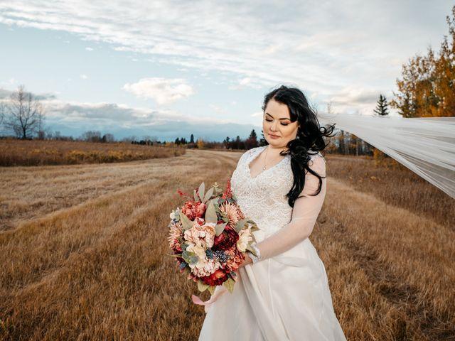 Kalia and Chad's wedding in Calgary, Alberta 6