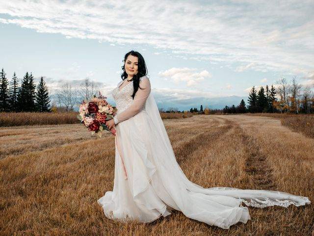 Kalia and Chad's wedding in Calgary, Alberta 8