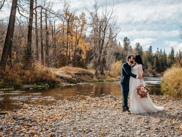 Kalia and Chad's wedding in Calgary, Alberta 11
