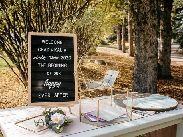 Kalia and Chad's wedding in Calgary, Alberta 12