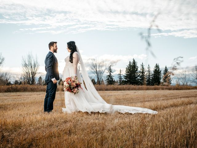 Kalia and Chad's wedding in Calgary, Alberta 13