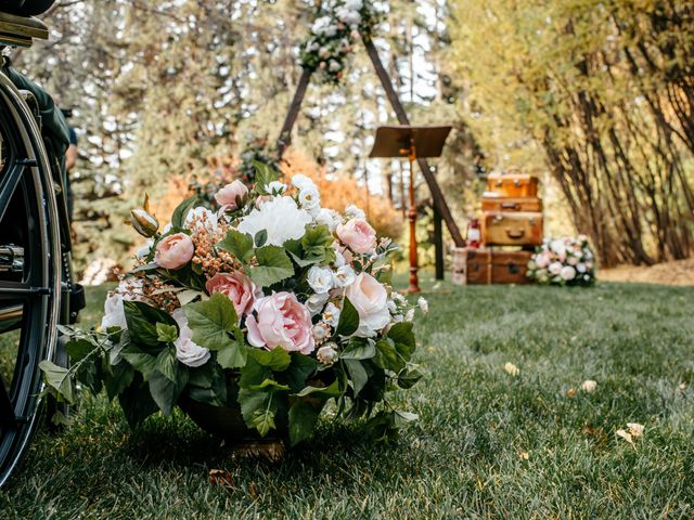 Kalia and Chad's wedding in Calgary, Alberta 14