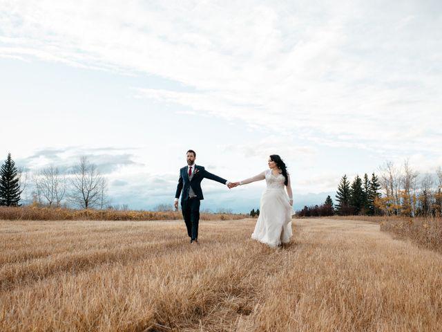 Kalia and Chad's wedding in Calgary, Alberta 15