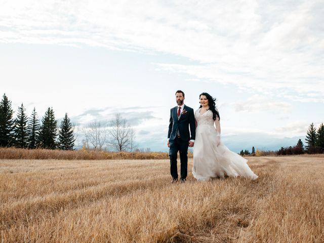 Kalia and Chad's wedding in Calgary, Alberta 17