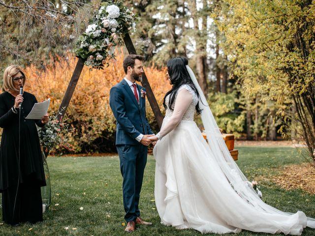 Kalia and Chad's wedding in Calgary, Alberta 21