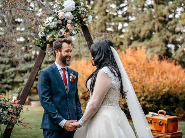 Kalia and Chad's wedding in Calgary, Alberta 22