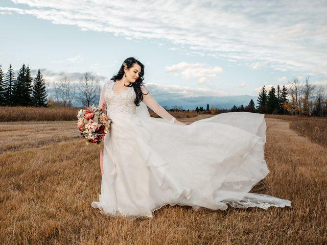 Kalia and Chad's wedding in Calgary, Alberta 1