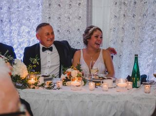 The wedding of Margaret and Steve