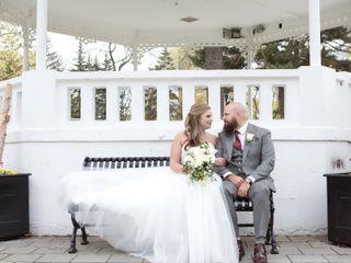 The wedding of Jessica and David 1
