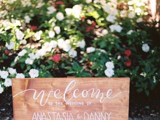 The wedding of Anastasia and Dan 1