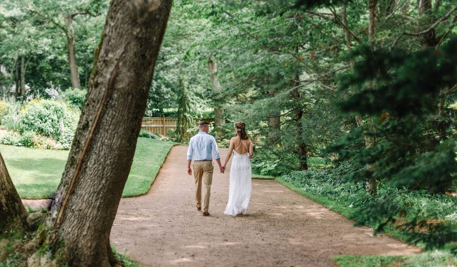 Henry and Kelly's wedding in Annapolis Royal, Nova Scotia
