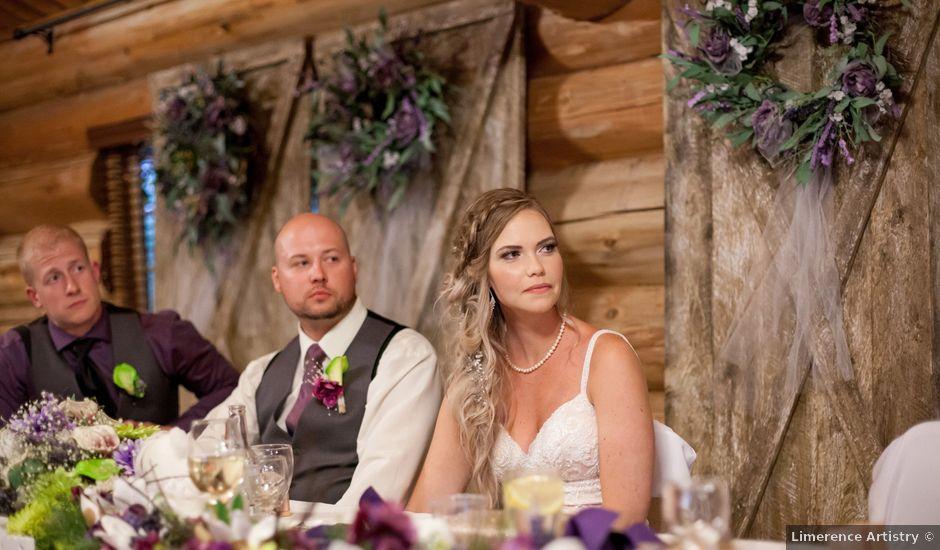 Travis and Belinda's wedding in Edmonton, Alberta
