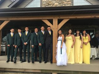The wedding of Shynnia and Cole