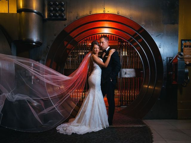 The wedding of Joscelyn and Daniel