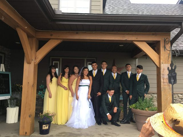 Cole  and Shynnia's wedding in St Laurent, Manitoba 5