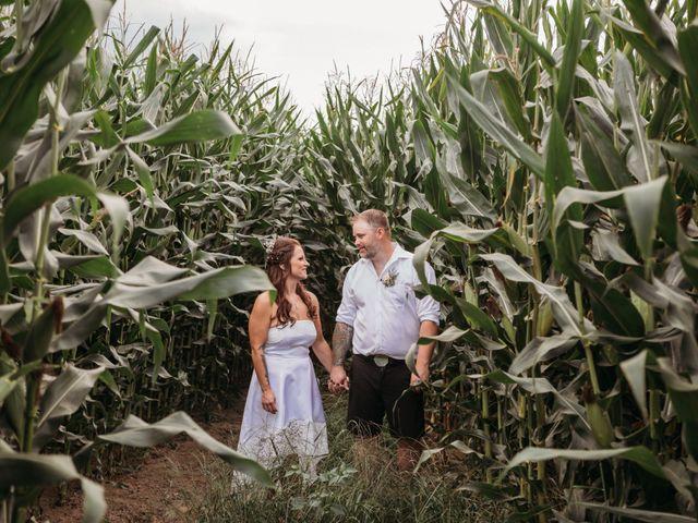 The wedding of Karen and Andrew