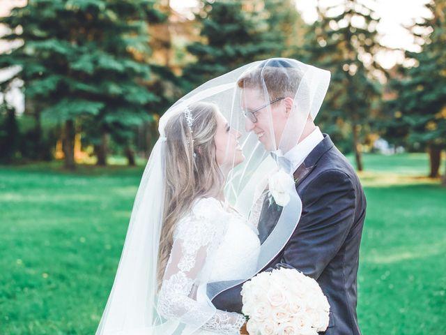 The wedding of Serena and Ari