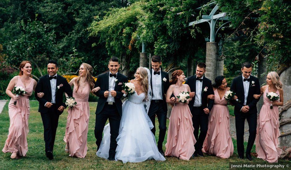 Brandyn and April's wedding in Surrey, British Columbia
