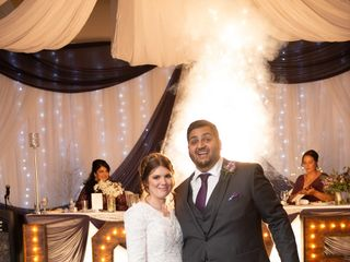 The wedding of Lindsay and Nadeem 1