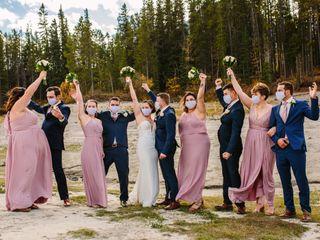 The wedding of Jena and Josh
