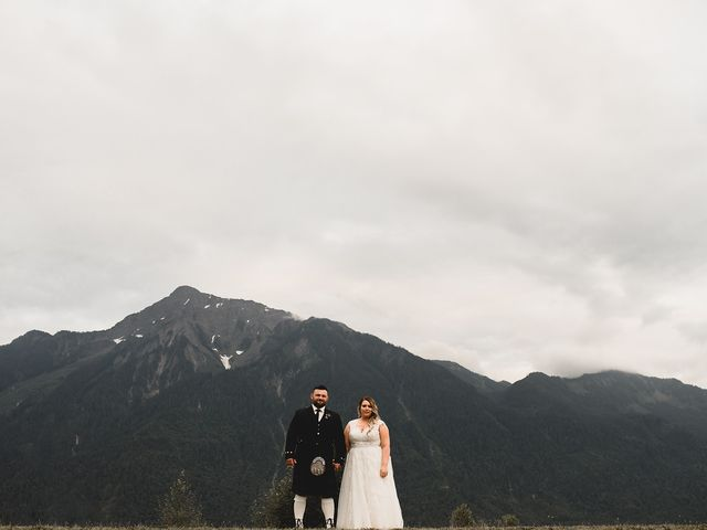 Nick and Syd's wedding in Agassiz, British Columbia 2