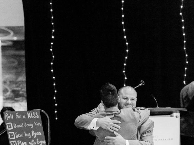 Dan and Jenny's wedding in Markham, Ontario 92