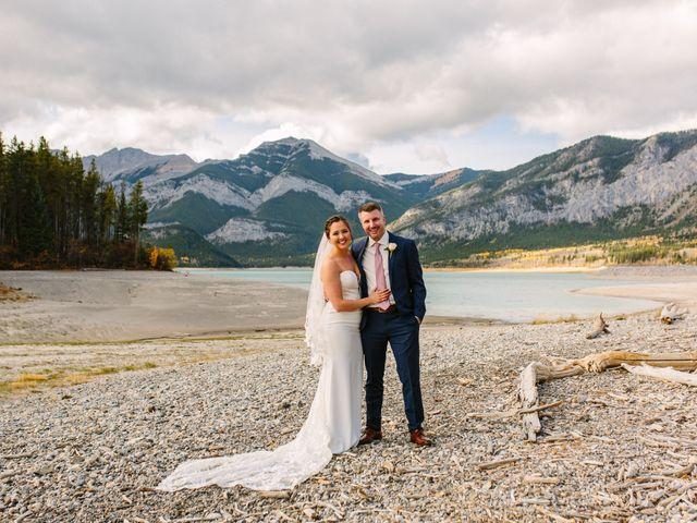 Josh and Jena's wedding in Kananaskis, Alberta 4