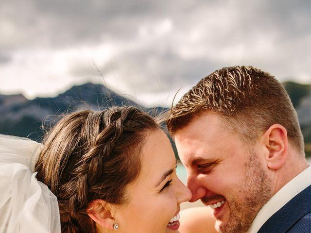 Josh and Jena's wedding in Kananaskis, Alberta 6