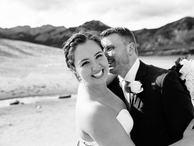 Josh and Jena's wedding in Kananaskis, Alberta 2