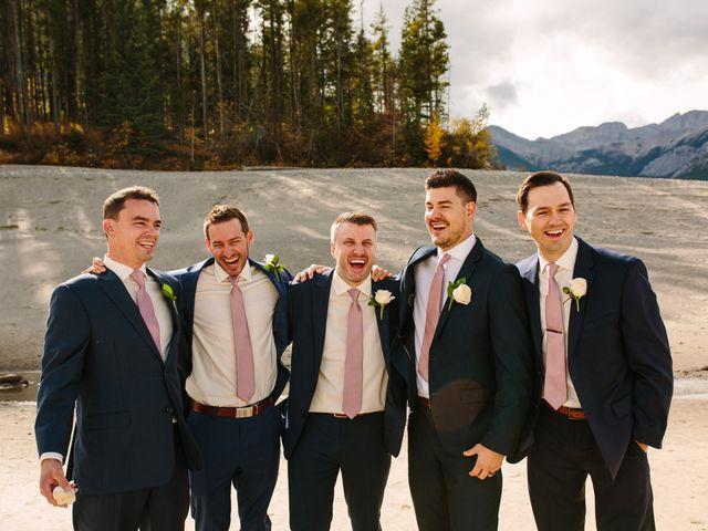 Josh and Jena's wedding in Kananaskis, Alberta 7
