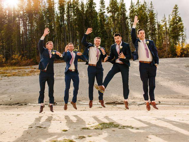Josh and Jena's wedding in Kananaskis, Alberta 8