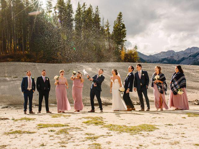 Josh and Jena's wedding in Kananaskis, Alberta 9