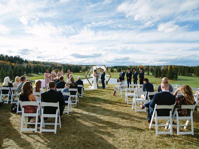 Josh and Jena's wedding in Kananaskis, Alberta 12
