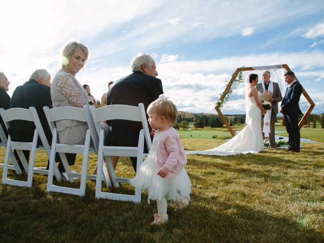 Josh and Jena's wedding in Kananaskis, Alberta 14