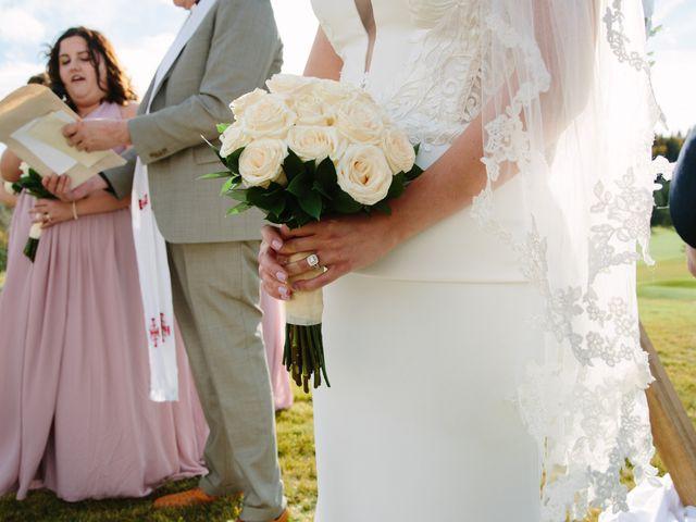 Josh and Jena's wedding in Kananaskis, Alberta 15