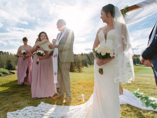Josh and Jena's wedding in Kananaskis, Alberta 16