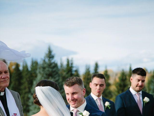 Josh and Jena's wedding in Kananaskis, Alberta 17
