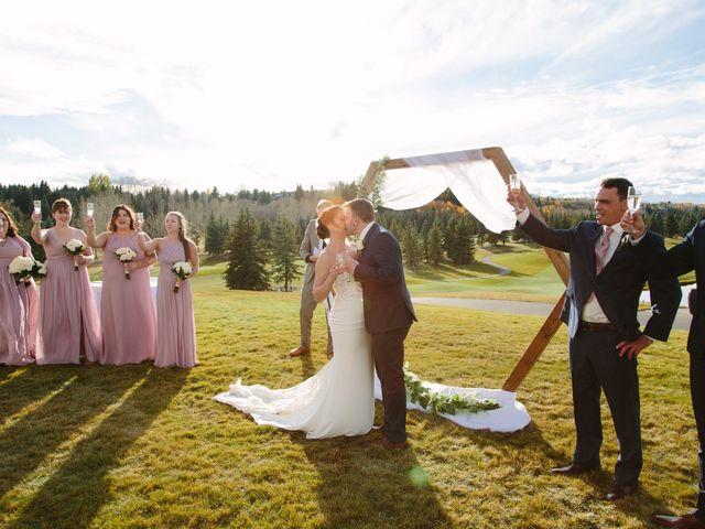 Josh and Jena's wedding in Kananaskis, Alberta 19
