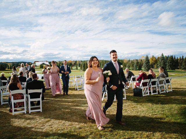 Josh and Jena's wedding in Kananaskis, Alberta 20