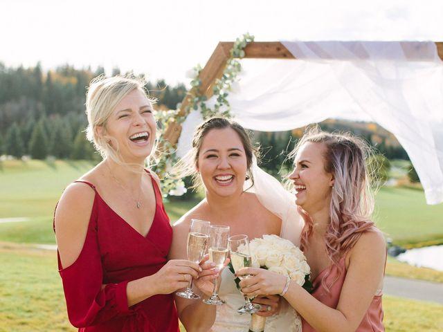 Josh and Jena's wedding in Kananaskis, Alberta 23