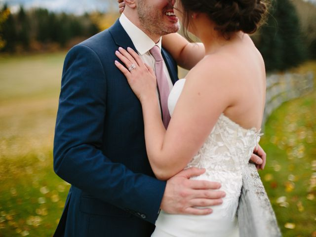 Josh and Jena's wedding in Kananaskis, Alberta 29
